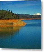 Scenic Shasta Lake Metal Print