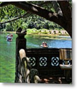 Scenic Tam Coc Boat Tour Metal Print