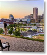 Scenic View From Federal Hill Metal Print