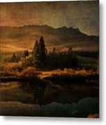 Scent Of Pines Metal Print