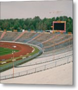 Schalke 04 - Parkstadion - North Goal Stand 1 - April 1997 Metal Print