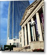 Schermerhorn Symphony Center Nashville Metal Print by Susanne Van Hulst