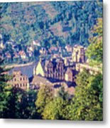 Schloss Heidelberg Metal Print
