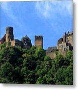 Schoenburg Castle Oberwesel Germany Metal Print