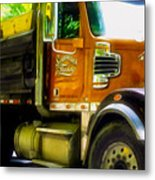 Schoenecker Trucking Metal Print
