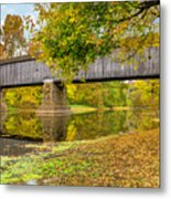 Schofield Bridge Over The Neshaminy Metal Print