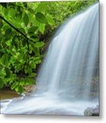 Schoolhouse Falls In Panthertown Valley North Carolina Metal Print