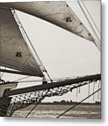 Schooner Pride Tall Ship Charleston Sc Metal Print by Dustin K Ryan
