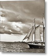 Schooner Pride Tallship Charleston Sc Metal Print by Dustin K Ryan
