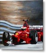 Schumacher Monaco Metal Print