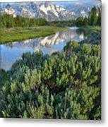 Schwabacher Landing In Grand Teton Metal Print