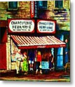Schwartzs Famous Smoked Meat Metal Print