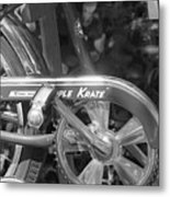 Schwinn Apple Krate Metal Print