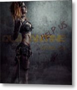 sci-fi Beauty 1 Metal Print