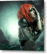Sci-fi Beauty 6 Metal Print