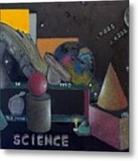 Science 101 Metal Print