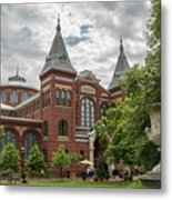 Science And Arts Building Metal Print