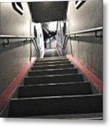 Scifi Hallway Metal Print