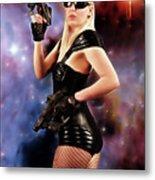 Scifi Heroine Metal Print
