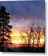Scintillating Sunset Metal Print