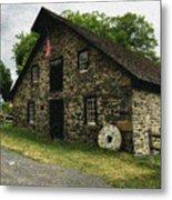 Sciota Mill Pennsylvania Metal Print