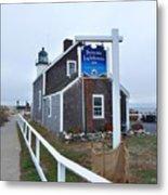 Scituate Lighthouse 1 Metal Print