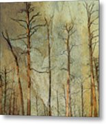 Scorched Forest Metal Print