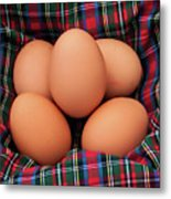 Scotch Eggs Metal Print