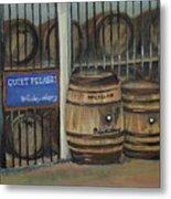 Scotch Whiskey - Barrels - Macallan Metal Print
