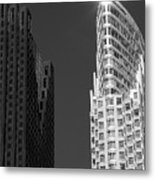 Scotia Plaza And One King West Metal Print