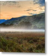 Scotland Mist In Widescape Metal Print