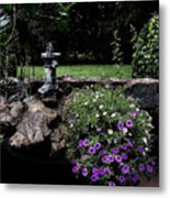 Scotopic Vision 2 - The Porch Metal Print