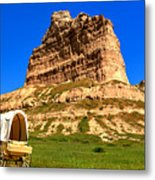 Scots Bluff National Monument Metal Print