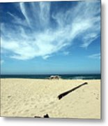 Scott Creek Beach California Usa Metal Print
