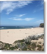 Scott Creek Beach Hwy 1 Metal Print