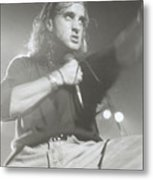 Scott Stapp Of Creed Metal Print