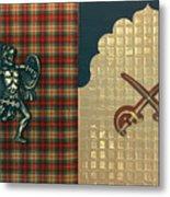 Scottish Arabian Metal Print