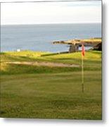 Scottish Golf Metal Print