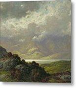Scottish Landscape Metal Print by Gustave Dore
