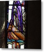 Scottish Stained Glass Window #2 Metal Print
