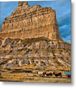 Scotts Bluff National Monument Metal Print