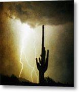 Scottsdale Arizona Fine Art Lightning Photography Poster Metal Print