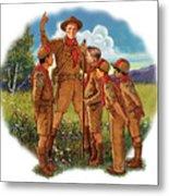Scoutmaster Metal Print