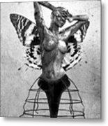 Scream Of A Butterfly II Metal Print