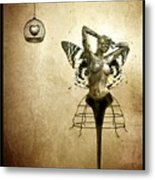 Scream Of A Butterfly Metal Print