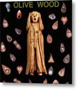 Scream Olive Wood Metal Print by Eric Kempson