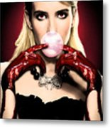 Scream Queen's - Chanel Oberlin Metal Print
