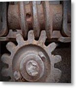 Screw And Gear  Metal Print