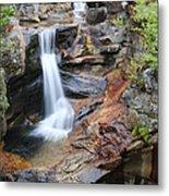 Screw Auger Falls - Maine  Metal Print