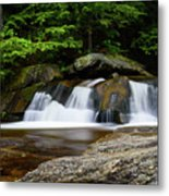 Screw Auger Falls Upper 2 Metal Print